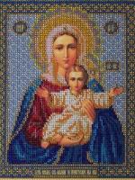Богородица Леушинская (Азъ есть с вами и никтоже на вы)